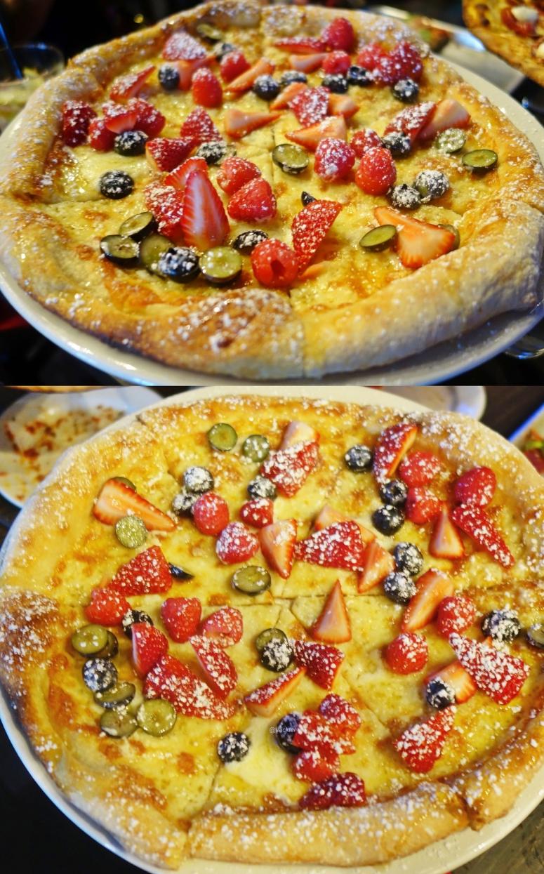 Beerenpizza