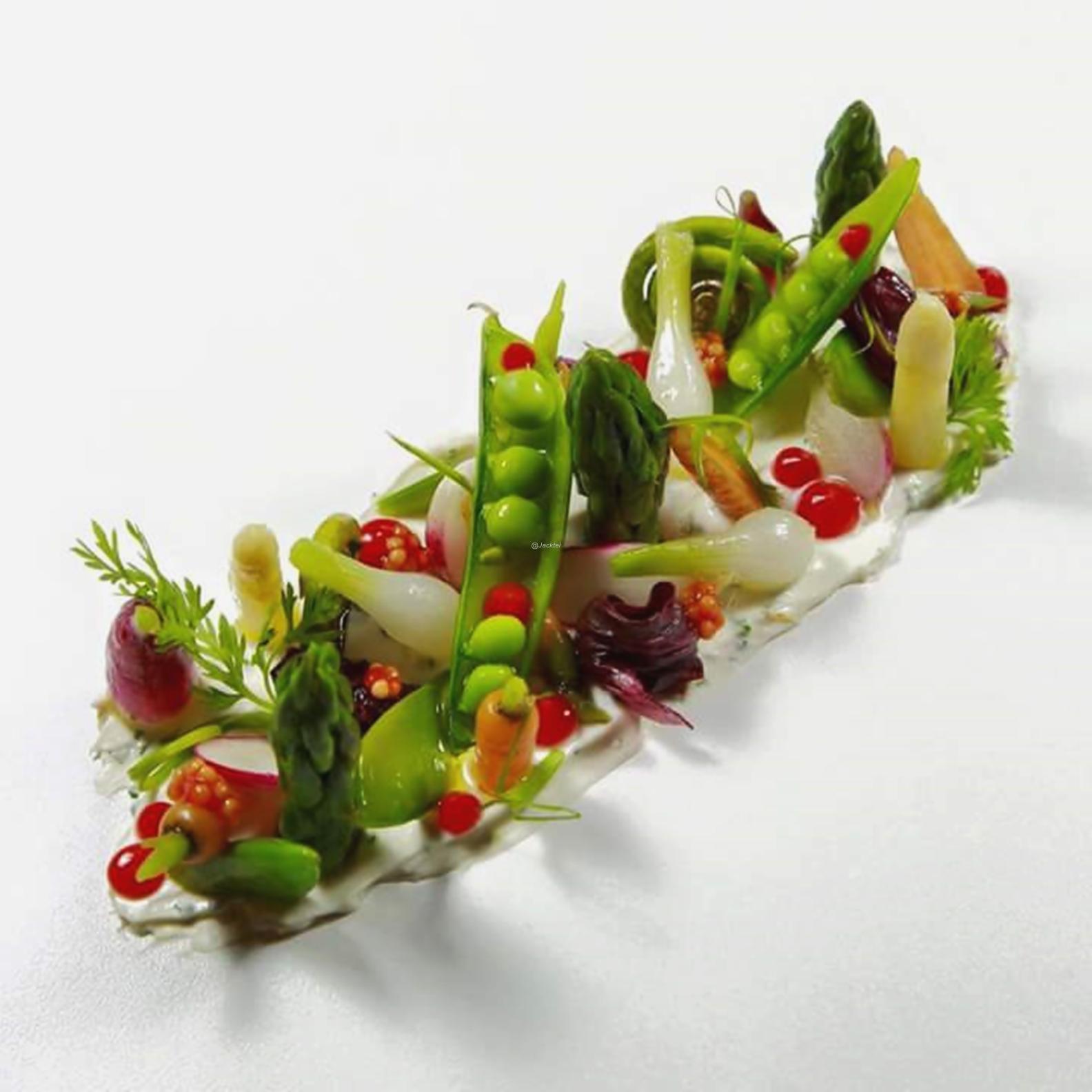 Gemüse-Kräutercreme