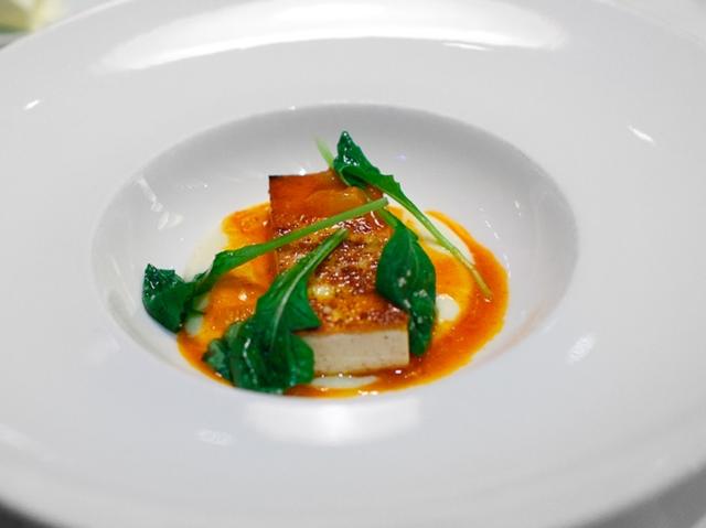 Tofu und Harissa