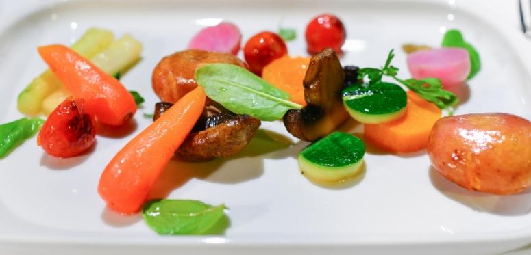 Gemüse-Pilzteller