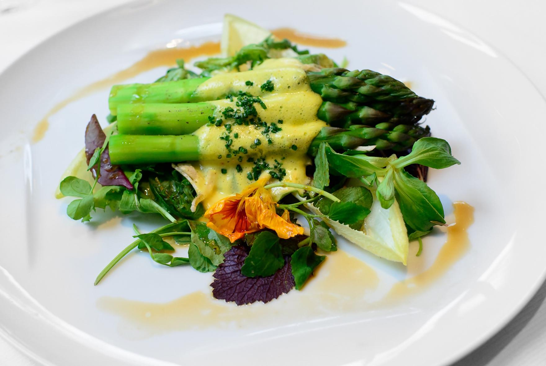 Salat-Spargel