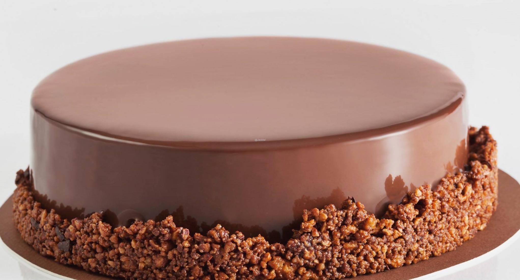 Torte Vollmilch-Nuss-Karamell