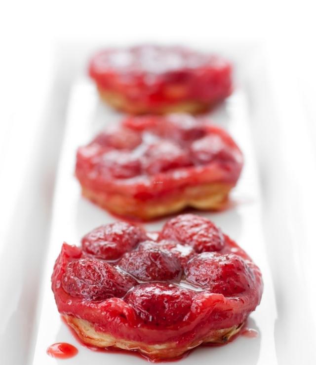 Erdbeer-Tatin