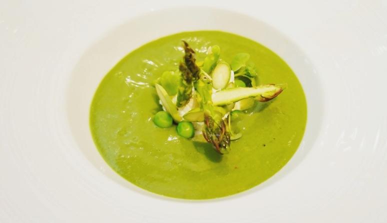 Grüne Gazpacho