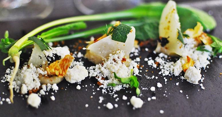 Rüben-Salat mit Ziege