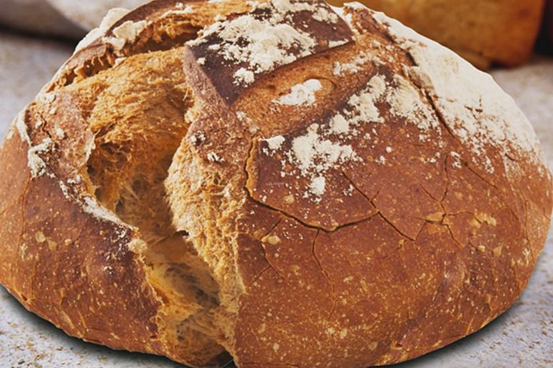 Sehr krosses Brot