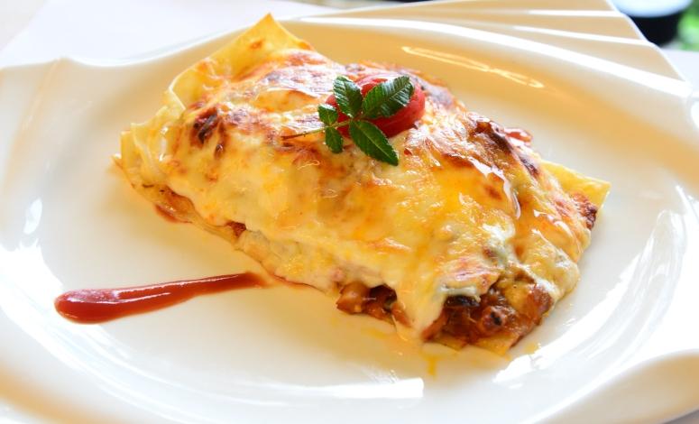 Vegie-Lasagne