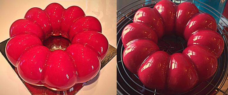 Beerenmousse-Torte