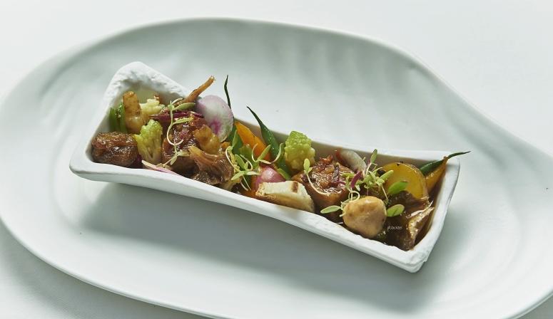 Gemüse Allerlei und Tofu