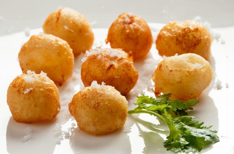 Kartoffel-Beignets-Molekular