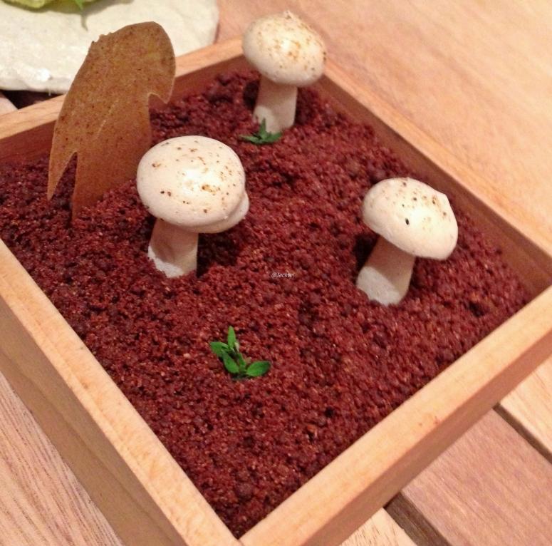 Dessert Waldmotiv